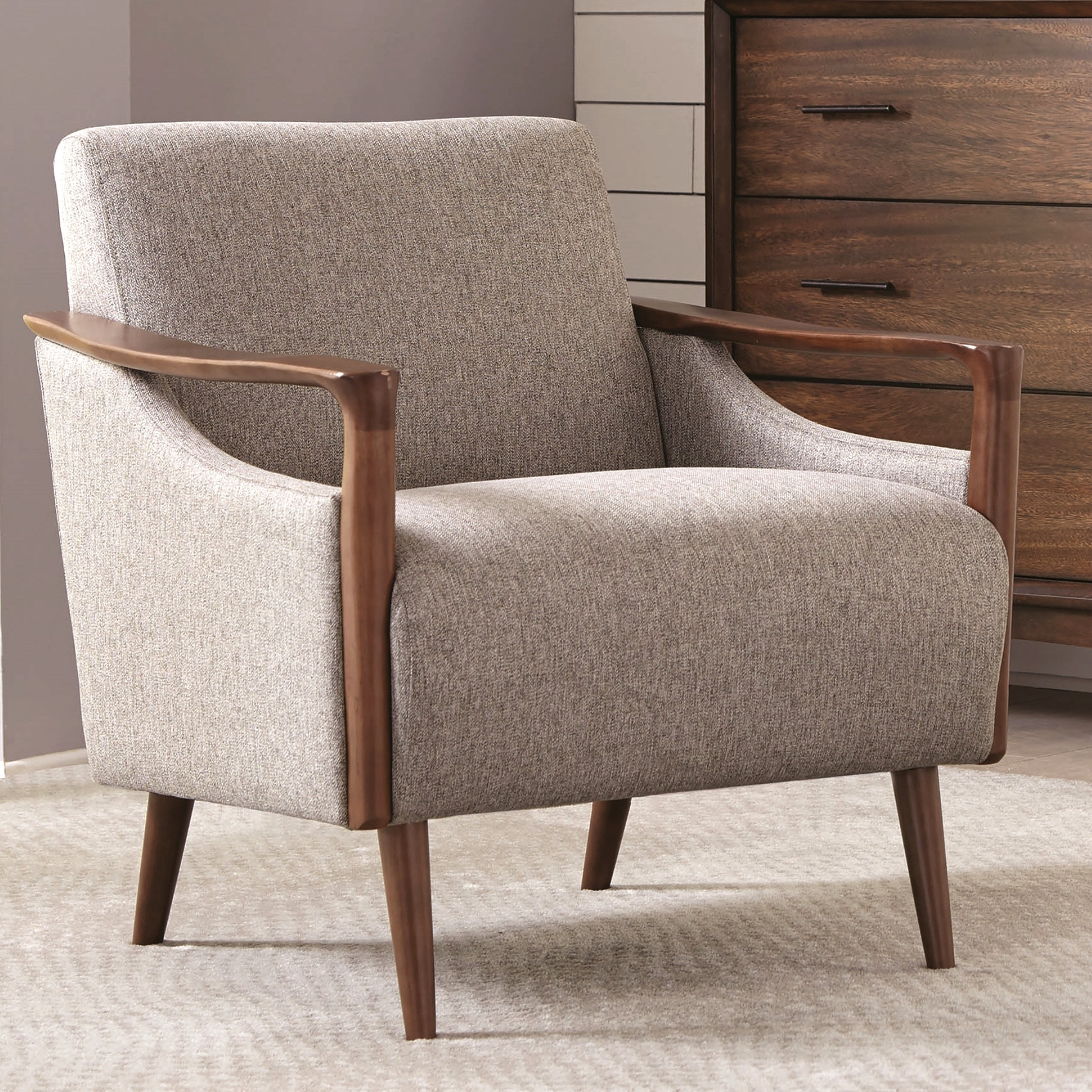 Details about mid century modern design living room accent chair