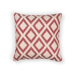 KAS Red Diamonds Decorative Throw Pillow