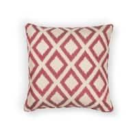 KAS Red Diamonds Decorative Throw Pillow