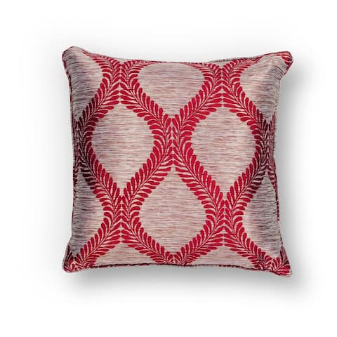 KAS Red Elegance Decorative Throw Pillow