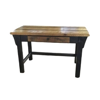 Amish-Made Writing Desk in Rustic Reclaimed Barnwood