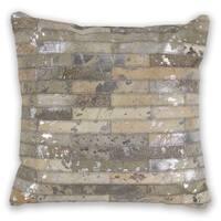 KAS Grey Elements Decorative Throw Pillow