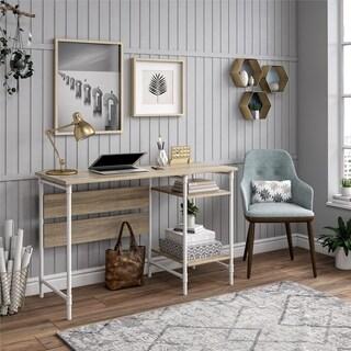 Avenue Greene Dowin Rustic Medium Single Pedestal Desk