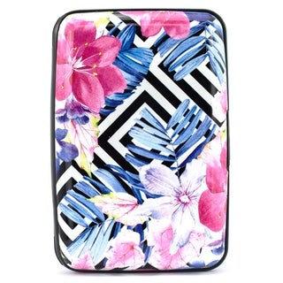 Miami CarryOn RFID Wallet/Credit Card Holder - Prevent RFID Scan Theft