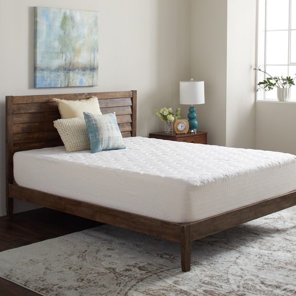 Shop Beautyrest Cotton Top Quilted Mattress Protector with ...