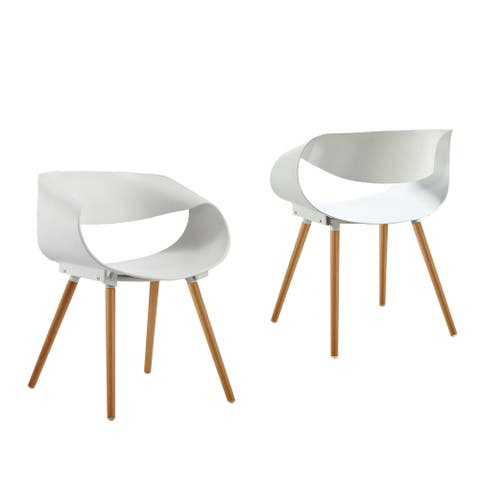 Best Master Furniture Mid Century and Modern Side Chairs (Set of 2)