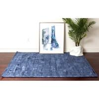 Silk Solid Hand Tufted-Soft Area Rug