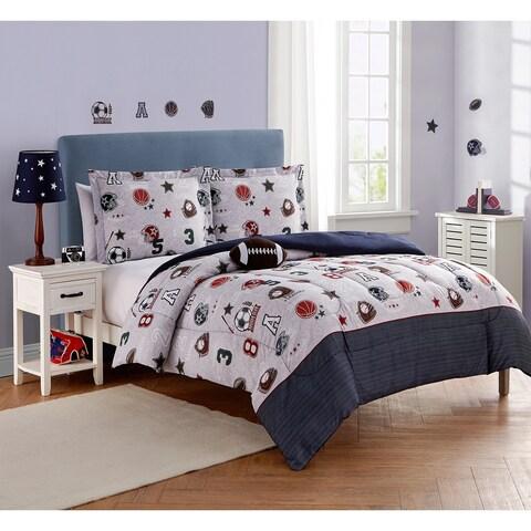 Tournament Sports 4pc Comforter Set