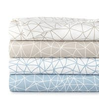 Vilano Choice 4-piece Geometric Maze Printed Sheet Set
