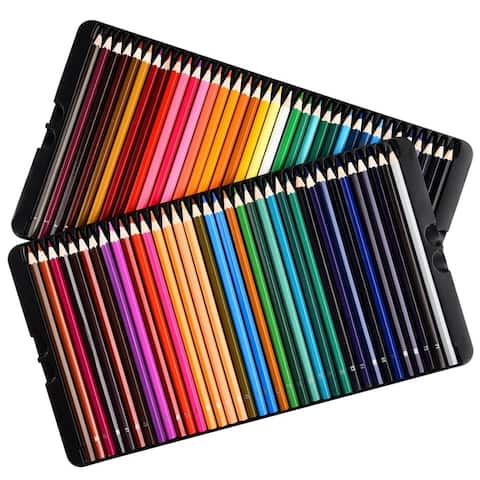 Premium Pre-Sharpened Colored Pencil (Set of 72)