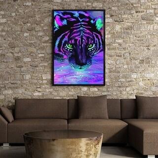 Tiger Pattern Art Painting DIY Handmade Diamond Painting Wall Decor