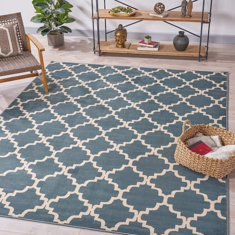 Templeton Geometric Indoor Rug by Christopher Knight Home