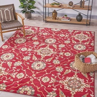 Turner Traditional Vintage Floral Indoor Rug by Christopher Knight Home