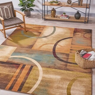 Norman Geometric Indoor Rug by Christopher Knight Home - 7'10 x 10'