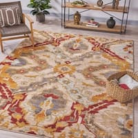 Levitas Ikat Indoor Rug by Christopher Knight Home - 7'8 x 10'10