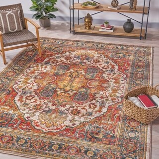 Reich Oriental Indoor Rug by Christopher Knight Home - 7'8 x 10'10