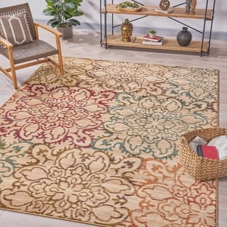 Rusk Abstract Indoor Rug by Christopher Knight Home