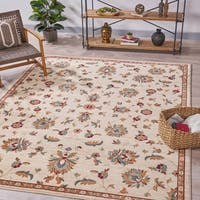 """Mayer 7'10"""" by 10' Vintage Floral Indoor Rug by Christopher Knight Home - 7'10 x 10'"""