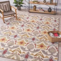 Ira Ikat Indoor Rug by Christopher Knight Home - 7'8 x 10'10