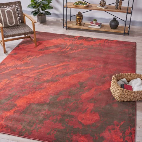 Deepak Abstract Indoor Rug by Christopher Knight Home