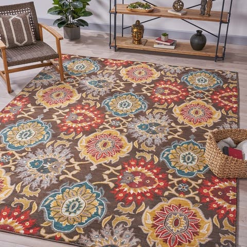 Raymond Bohemian Indoor Rug by Christopher Knight Home