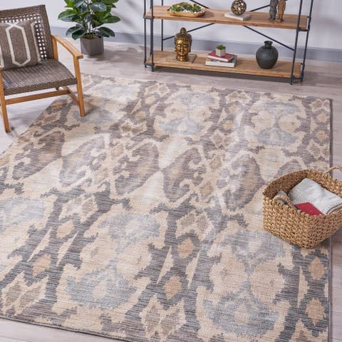 Reynolds Patterned Indoor Rug by Christopher Knight Home