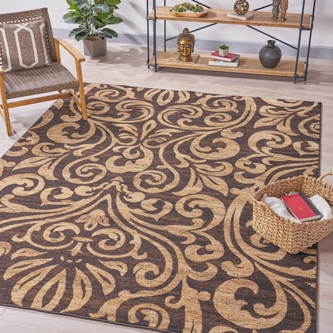 Madigan Fleur de Lis Indoor Rug by Christopher Knight Home
