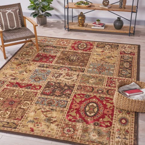 Huntington Geometric Indoor Rug by Christopher Knight Home