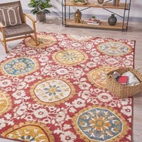 Chumir Bohemian Indoor Rug by Christopher Knight Home - 7'8 x 10'10