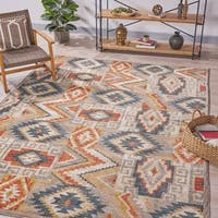 Hoffman Abstract Geometric Indoor Rug by Christopher Knight Home - 7'8 x 10'10