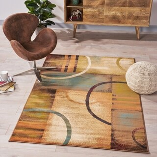 Norman Geometric Indoor Rug by Christopher Knight Home - 5'3 x 7'6
