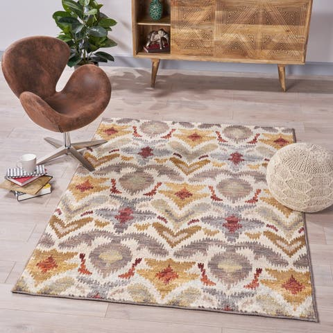 Ira Ikat Indoor Rug by Christopher Knight Home