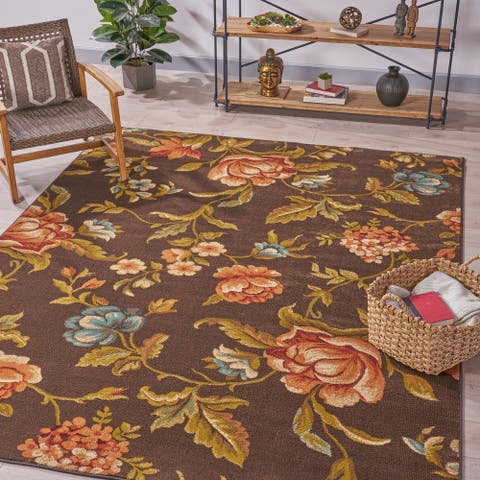 Barbeau Vintage Floral Indoor Rug by Christopher Knight Home