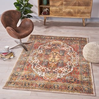 Reich Oriental Indoor Rug by Christopher Knight Home - 5'3 x 7'6
