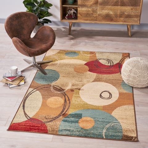 Penfield Contemporary Geometric Indoor Rug by Christopher Knight Home