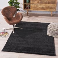Impressions Casual Shag Indoor Rug by Christopher Knight Home - 5'3 X 7'3