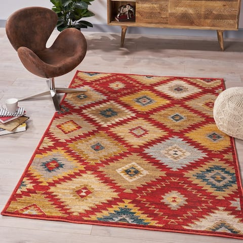 Guido Geometric Indoor Rug by Christopher Knight Home