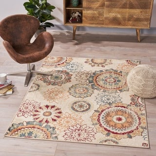 Rostow Indoor Rug by Christopher Knight Home - 5'3 X 7'