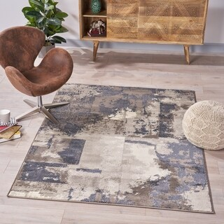 Wilson Contemporary Indoor Rug by Christopher Knight Home - 5'3 x 7'