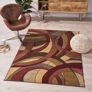 Vanderbilt Abstract Indoor Rug by Christopher Knight Home - 5'3 X 7'6