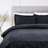 Luxury French Velvet Comforter Set