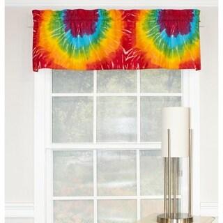 RLF Home Tie Dye Straight Window Valance - Summer