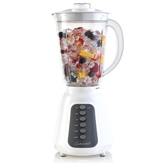 Continental 5-Speed Plastic Blender 48 Ounce White