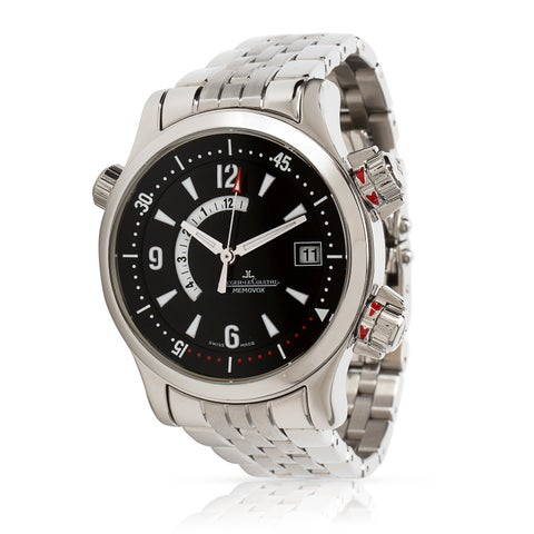 Pre-Owned Jaeger-LeCoultre Compressor Memovox 146.8.97/1 Men's Watch in Stainless Steel - N/A - N/A