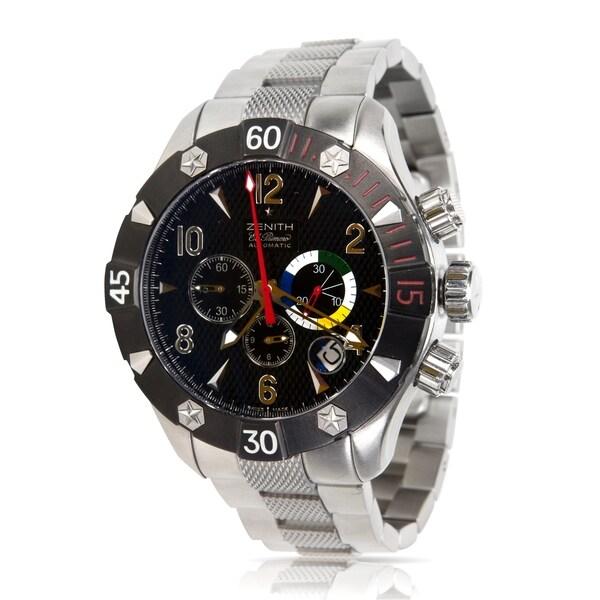 74f1b90aa74 Shop Pre-Owned Zenith Defy Classic Aero 03.0526.4000 Men s Watch in ...