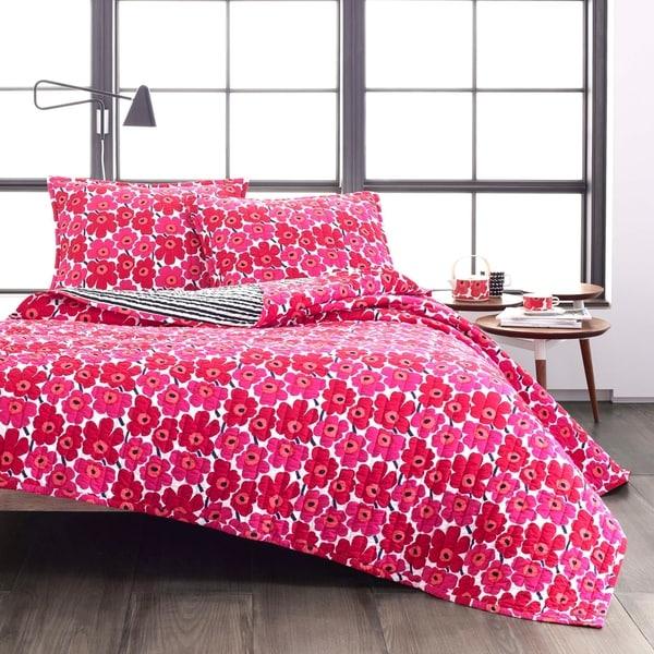 Marimekko Mini Unikko Quilt Set