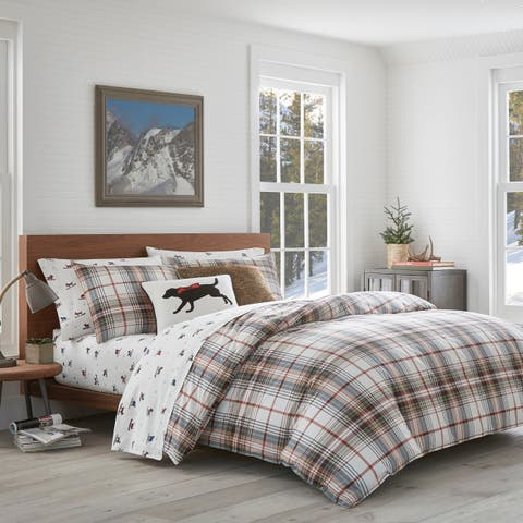 Eddie Bauer Classic Plaid Duvet Cover Set