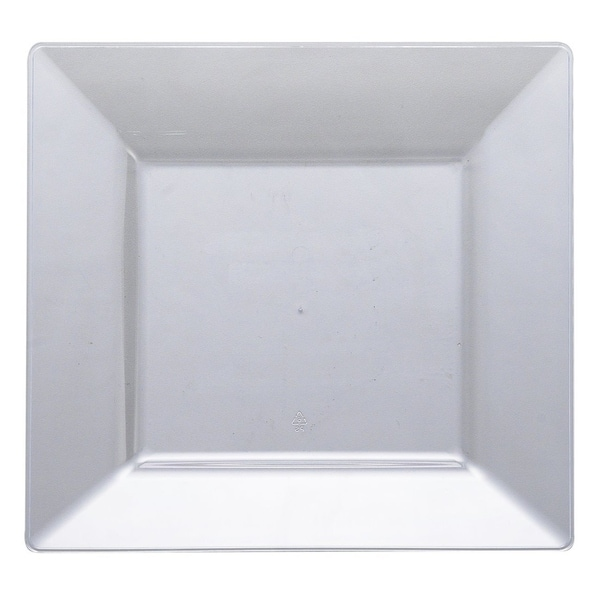 """Plastic Black 10.75/"""" Rectangle Serving Trays Disposable Party Home Tableware"""