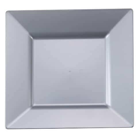 Large Plastic Square Plates - Disposable or Reusable - For Party's and Weddings