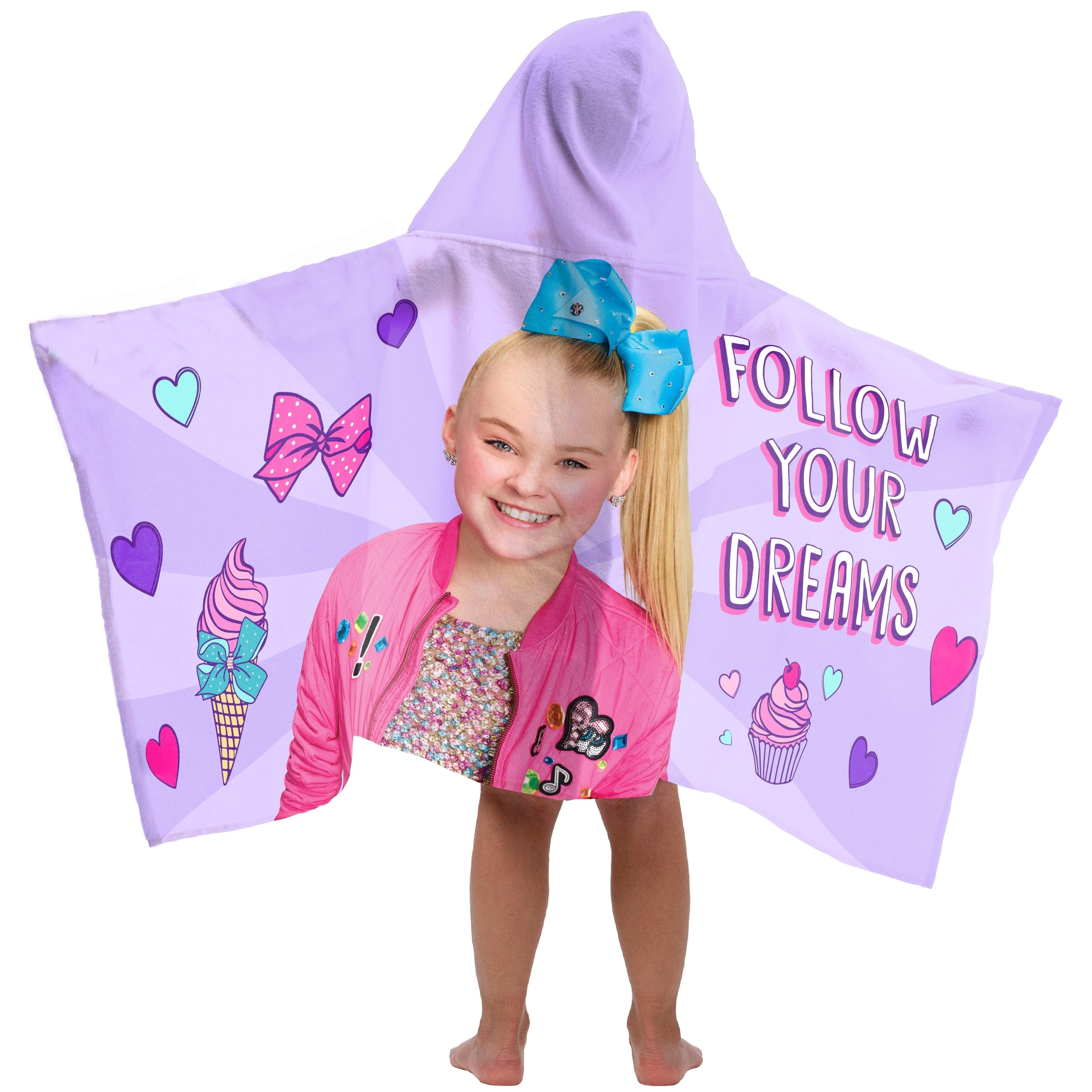 JoJo Siwa Dreams Bows Printed Beach Towel